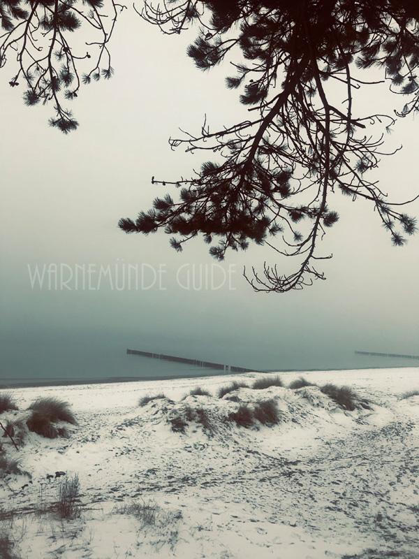 Warnemünde im Corona-Winter 2020/21